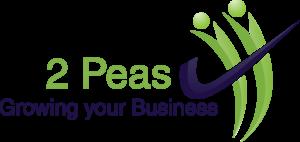2 Peas Logo Shaded Royalblue Png Transparent Copy