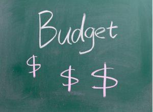 Chalk Board Budget