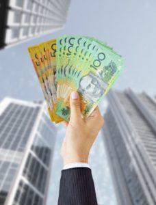 Jobkeeper Cash With Man Hand