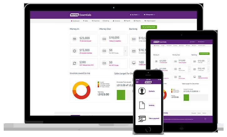 MYOB Accounting Solutions